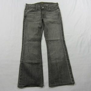 7 Seven For All Mankind Womens Grey Jeans 28 W